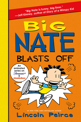 Big Nate Blasts Off Cover Image