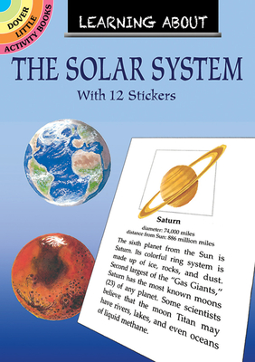 Learning about the Solar System [With 12] (Dover Little Activity Books) Cover Image