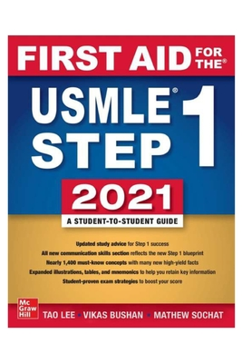 First Aid: for the USMLE Step One 2021, 31st Edition Cover Image