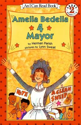 Amelia Bedelia 4 Mayor Cover