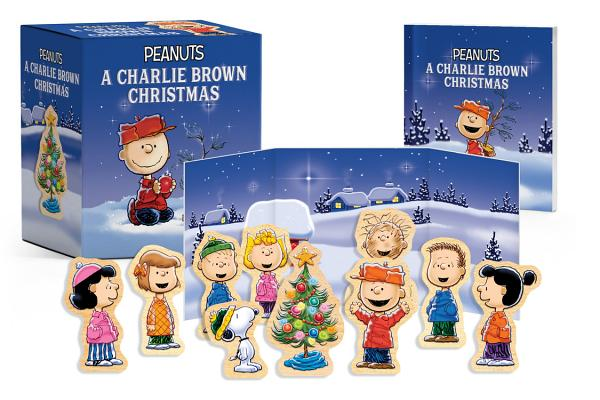 Peanuts: A Charlie Brown Christmas Wooden Collectible Set (RP Minis) Cover Image