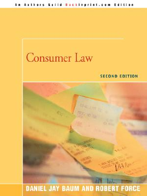 Consumer Law: Second Edition Cover Image