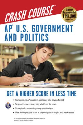 Ap(r) U.S. Government & Politics Crash Course Book + Online (REA Test Preps) Cover Image
