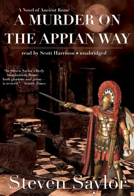 A Murder on the Appian Way Lib/E (Roma Sub Rosa #5) Cover Image