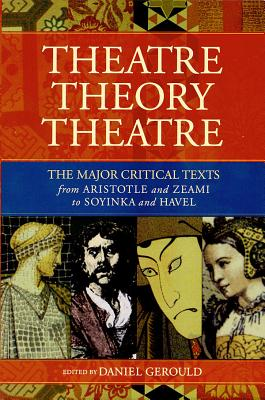 Theatre/Theory/Theatre (Applause Books) Cover Image