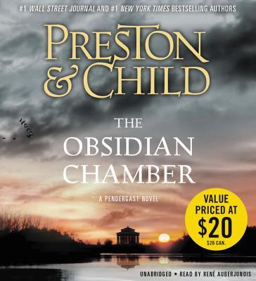 The Obsidian Chamber Lib/E (Pendergast Novels #17) Cover Image