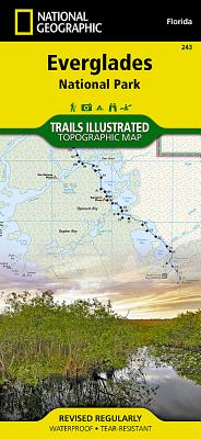 Everglades National Park (National Geographic Maps: Trails Illustrated #243) Cover Image