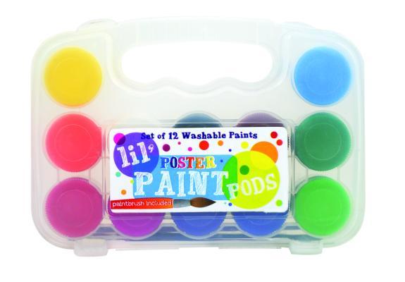 Lil Paint Pods - Set of 12 - P Cover Image