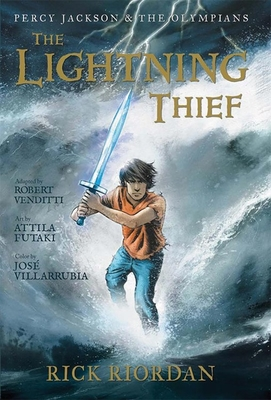 Percy Jackson and the Olympians The Lightning Thief: The Graphic Novel (Percy Jackson & the Olympians) Cover Image