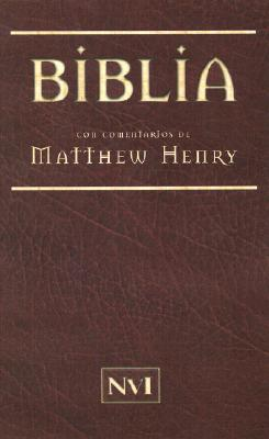 Biblia Matthew Henry-NVI = Matthew Henry Bible-RV 1960
