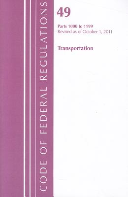 Transportation, Parts 1000 to 1199 Cover Image