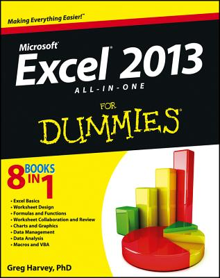 Excel 2013 All-In-One for Dummies Cover
