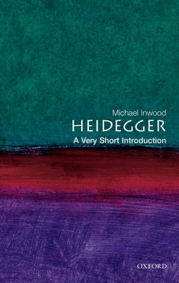 Heidegger: A Very Short Introduction (Very Short Introductions #25) Cover Image