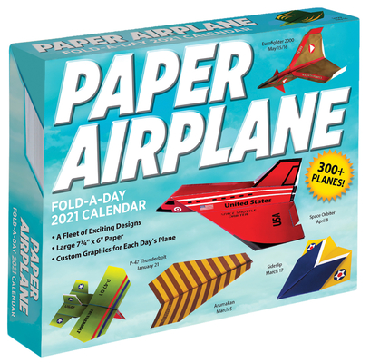 Paper Airplane Fold-A-Day 2021 Calendar Cover Image