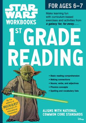 Star Wars Workbook: 1st Grade Reading (Star Wars Workbooks) Cover Image