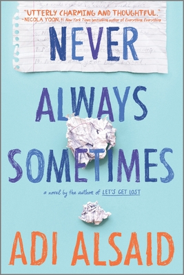 Never Always Sometimes: A Coming-Of-Age Novel Cover Image