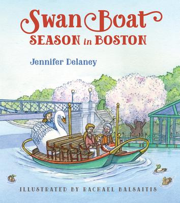 Swan Boat Season in Boston Cover
