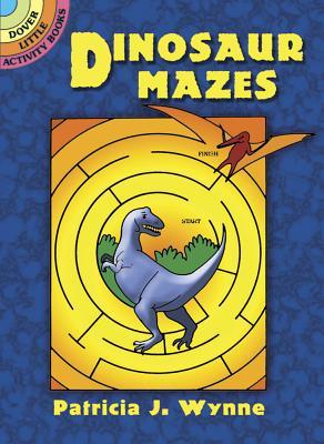 Dinosaur Mazes (Dover Little Activity Books) Cover Image