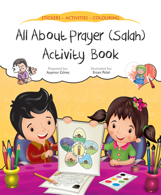 All about Prayer (Salah) Activity Book (Discover Islam Sticker Activity Books) Cover Image