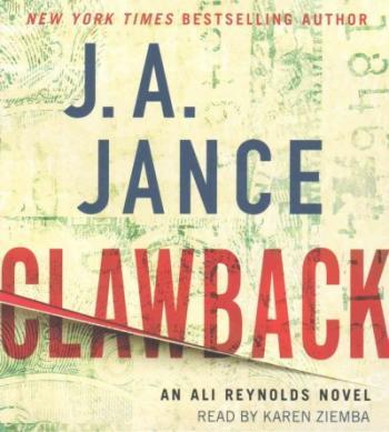 Clawback: An Ali Reynolds Novel Cover Image