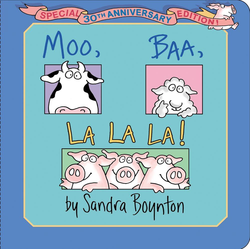 Moo, Baa, La La La! Cover