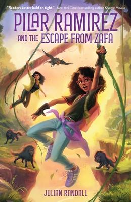 Pilar Ramirez and the Escape from Zafa (Pilar Ramirez Duology #1) Cover Image