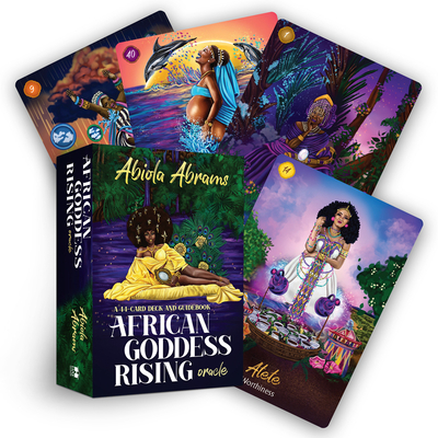 African Goddess Rising Oracle: A 44-Card Deck and Guidebook Cover Image