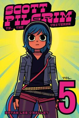 Scott Pilgrim Volume 5 Cover