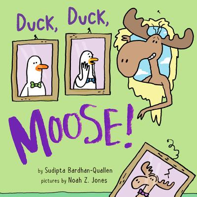 Duck, Duck, Moose! Cover