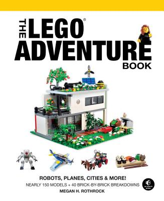 The LEGO Adventure Book, Vol. 3: Robots, Planes, Cities & More! Cover Image