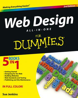 Web Design All-In-One for Dummies Cover Image