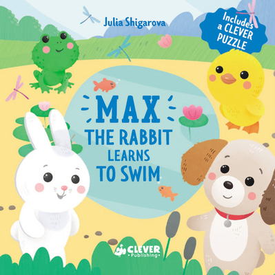 Cover for Max The Rabbit Learns To Swim