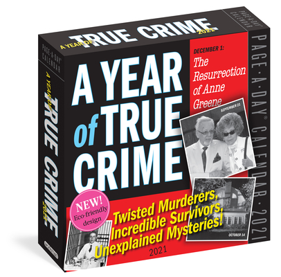 A Year of True Crime Page-A-Day Calendar 2021 Cover Image
