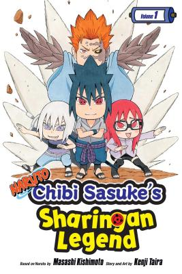 Naruto: Chibi Sasuke's Sharingan Legend, Vol. 1 cover image