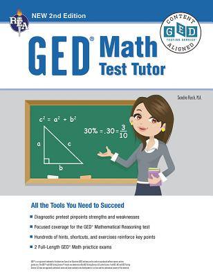 Ged(r) Math Test Tutor, for the 2021 Ged(r) Test, 2nd Edition Cover Image