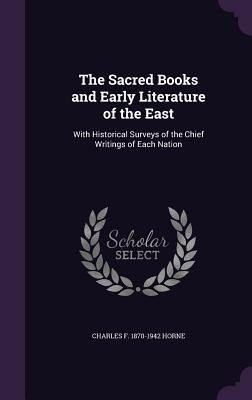 Cover for The Sacred Books and Early Literature of the East