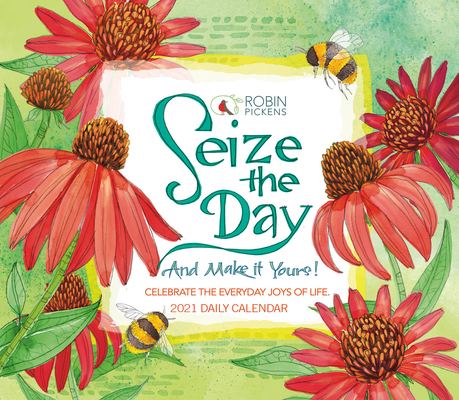 2021 Seize the Day Boxed Daily Calendar Cover Image