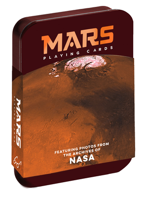 Mars Playing Cards: Featuring photos from the archives of NASA (Space Playing cards, Poker Playing Cards, Adult and Kids Playing Cards) Cover Image