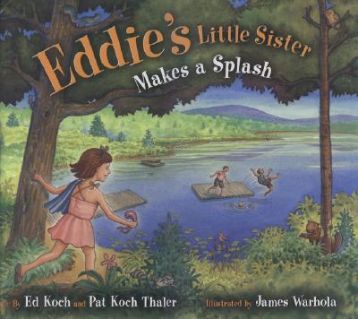 Eddie's Little Sister Makes a Splash Cover