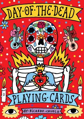 Playing Cards: Day of the Dead: (Día de los Muertos; Standard card deck) (Magma for Laurence King) Cover Image