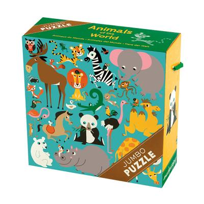 Animals of the World Jumbo Puzzle Cover Image