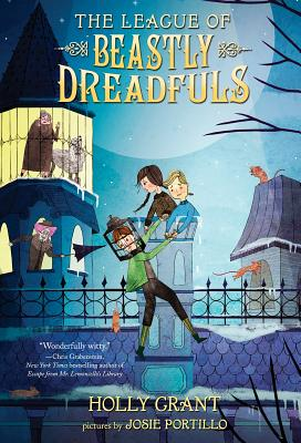 The League of Beastly Dreadfuls Book 1 Cover Image