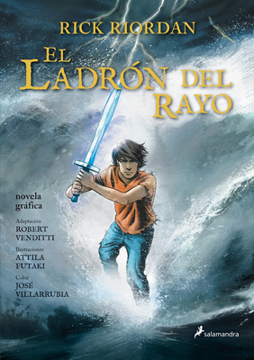 El Ladrón del Rayo. Novela Gráfica / The Lightning Thief: The Graphic Novel Cover Image
