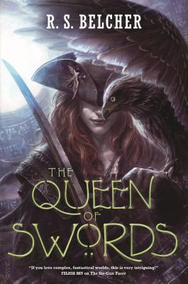 Cover for The Queen of Swords (Golgotha #3)