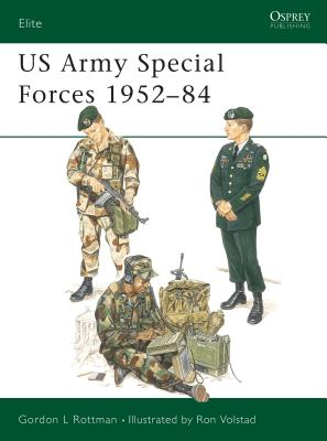 US Army Special Forces 1952–84 (Elite) Cover Image