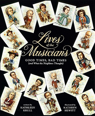 Lives of the Musicians Cover