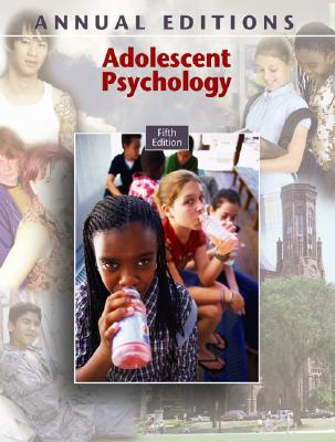 Adolescent Psychology (Annual Editions: Adolescent Psychology) Cover Image