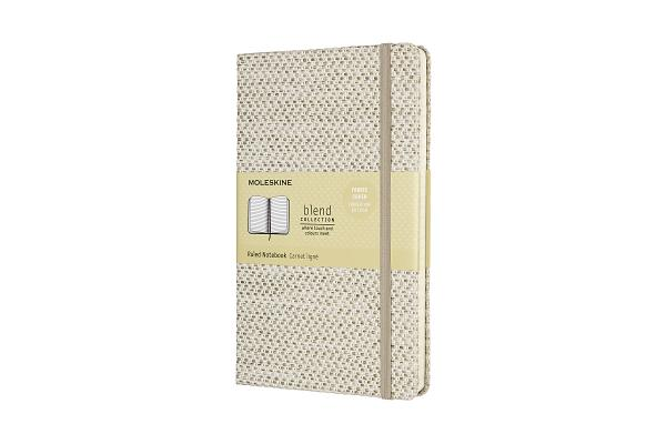 Moleskine Blend Limited Collection Notebook, Large, Ruled, Beige Cover Image