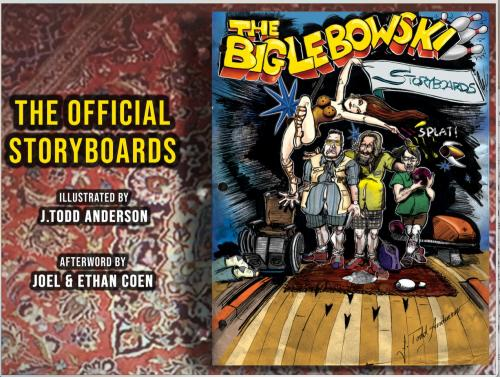 The Big Lebowski The Official Storyboards Cover Image