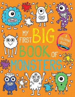 My First Big Book of Monsters (My First Big Book of Coloring) Cover Image